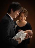 お宮参り・赤ちゃんの記念写真